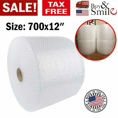 """Bubble Cushioning Wrap Small Padding 3/16"""" 700 ft. x 12"""" Perforated Every 12"""" US"""