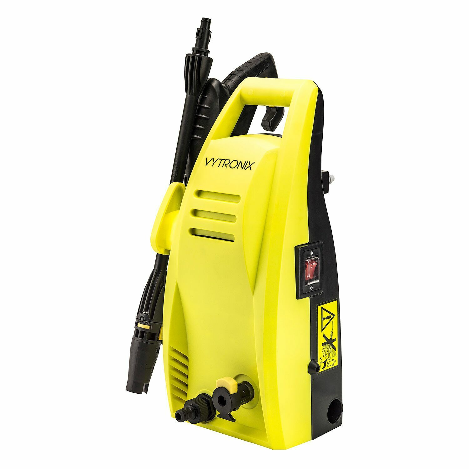 VYTRONIX Pressure Washer Powerful High Performance 1500W Jet Wash For Car Patio
