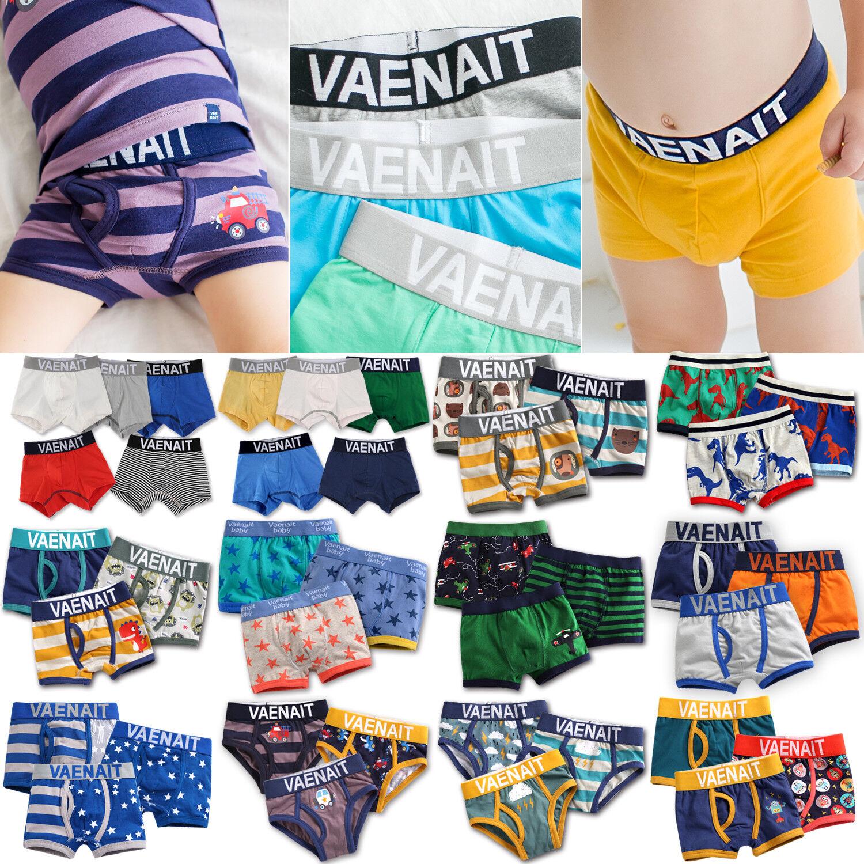 "Vaenait Baby Kids Boys Boxer Brief Underwear Short Set ""Pant"