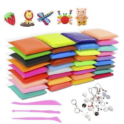 DIY Fluffy Slime Kit 36 Farben DIY Fluffy Schleim Set Knete für Kinder Erwachsen