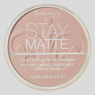 Rimmel Stay Matte Pressed Powder,018 Creamy