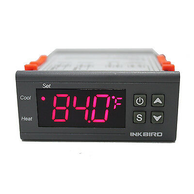 Inkbird Itc1000 12v Digital Temperature Controller 2 Relay Thermostat Fahrenheit