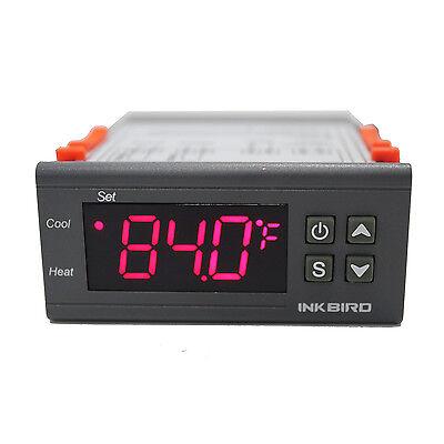 Inkbird Itc1000 12v Digital Temperature Controller 2 Relay Thermostat Fahrenheit