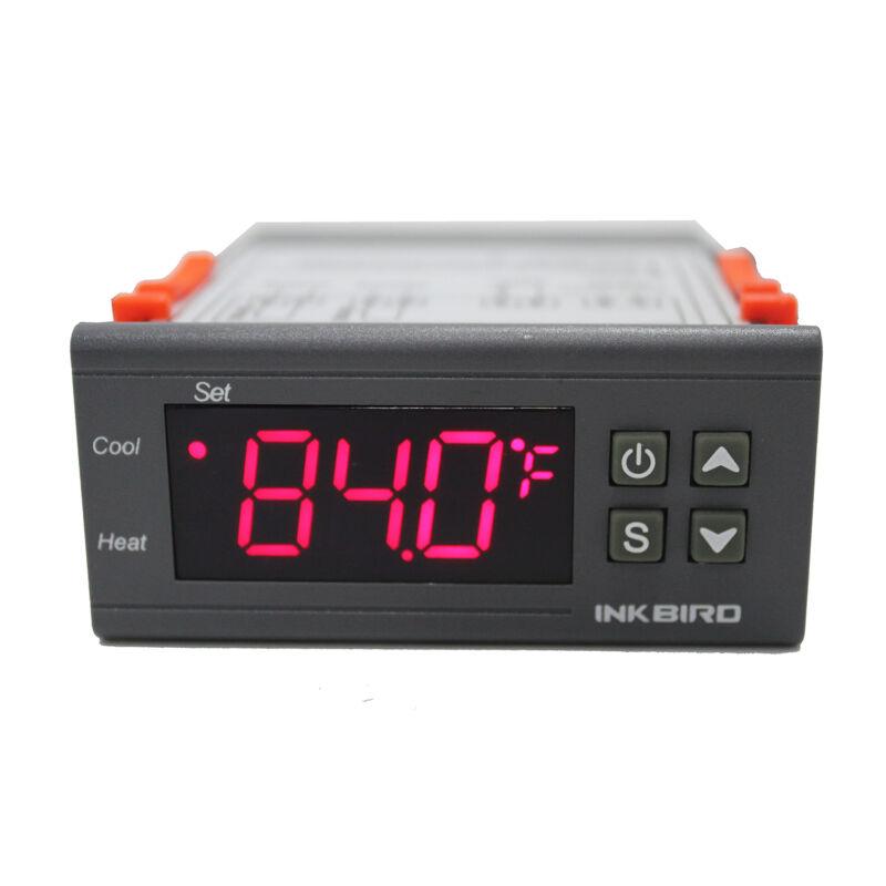 Inkbird Digital Temperature Controller 110V 2 Relays Thermostat -50-210°F C/F US
