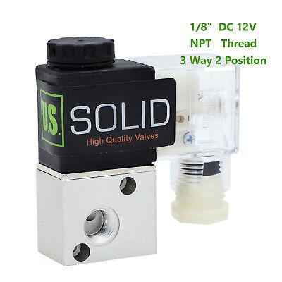 18 Npt 3 Way 2 Position Pneumatic Electric Solenoid Valve Dc 12v