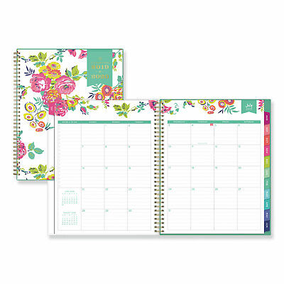 Day Designer For Blue Sky 2019-2020 Academic Year Weekly Monthly Planner Flex