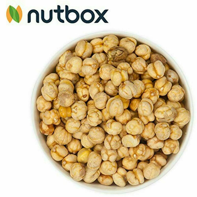 Nutbox Roasted Chickpeas Salted 32oz High Fiber, Gluten & Dairy Free Dry Roasted