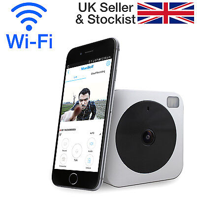 Wi-Fi Internet HD Video Doorbell with Motion Alarm