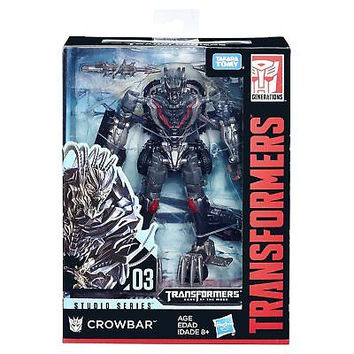 Takara Tomy Transformers Movie Studio Series Deluxe Crowbar Wave 1 New In Stock