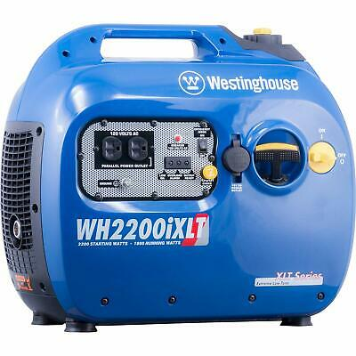 Westinghouse 2200-w Quiet Portable Gas Powered Inverter Generator Home Backup Rv