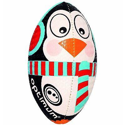 Optimum Mini Rugby Ball - Christmas Penguin