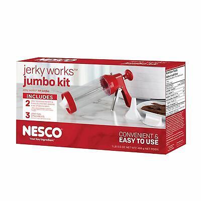 Jerky Jumbo Seasoning Kit Gun for Beef & Meats Homemade Kitc