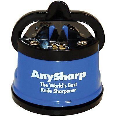 New! AnySharp Global World's Best PowerGrip Knife Sharpening Sharpener in