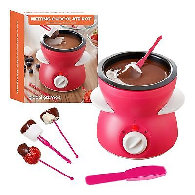 Melting Chocolate Pot With Accessories - Global Gizmos Gift 50980 Gift Chocolate Fountain Accessories