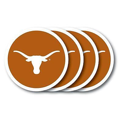 Texas Longhorns Coaster Set 4-Pack Home Decor Duck House