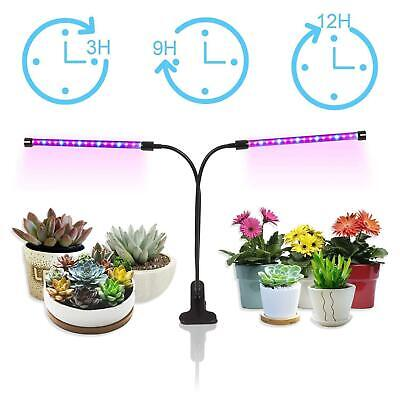LED Grow Light Plant Growing Lamp Lights with Clip for Indoor Plants -