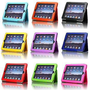 Magnetic-Folio-PU-Leather-Case-Cover-With-Stand-For-Apple-iPad-1-1st-Generation