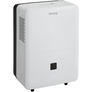 Danby 70 Pint 2 Speed Dehumidifier w/ Auto De-Icer & Washable Air Filter
