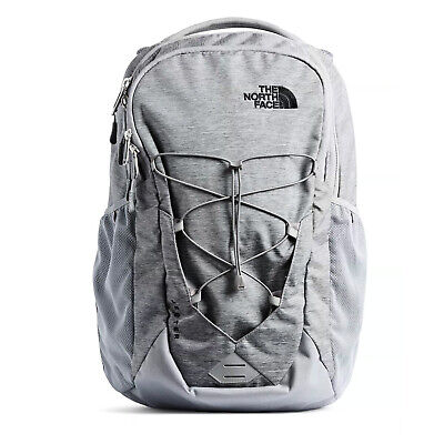 The North Face - Jester Backpack - Mid Grey Dark Heather / TNF Black
