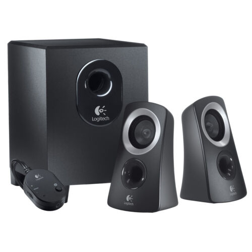 Logitech 50 Watts Computer Speaker System With Subwoofer ...