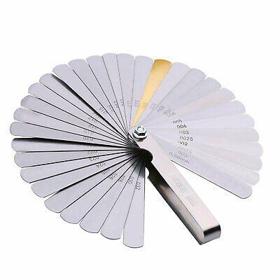 32 Blade Feeler Gauge Dual Reading Combination Feeler Gauge Metric & SAE Automotive Tools & Supplies