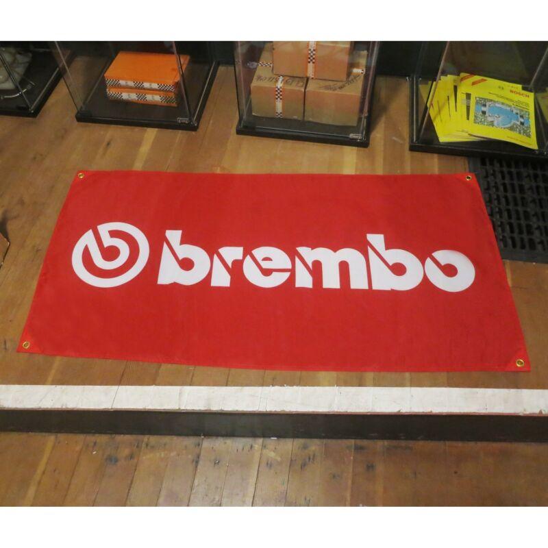 Brembo Flag Banner Sign bmw vw m3 911 porsche z3 gt hks jdm turbo rims skyline