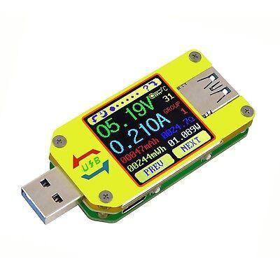 Um34 Usb 3.0 Voltage Current Multimeter Digital Lcd Battery Capacity Ammeter