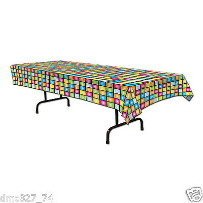 1 Retro 1970s 70s Decade Party Decoration TABLE COVER DISCO Saturday Night - 1970s Party Decorations