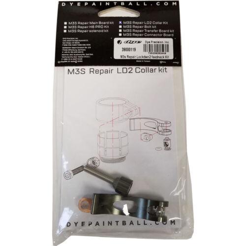 Dye M3 Lockdown Feedneck Kit - Paintball