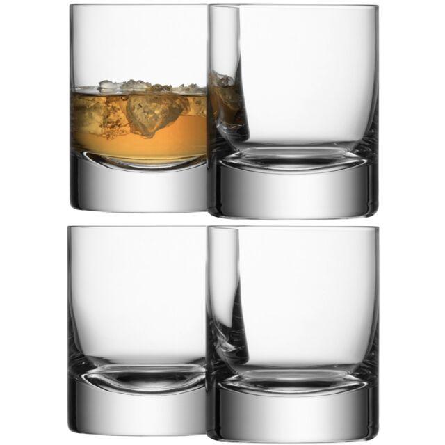 LSA Bar Tumbler - clear - Set of 4
