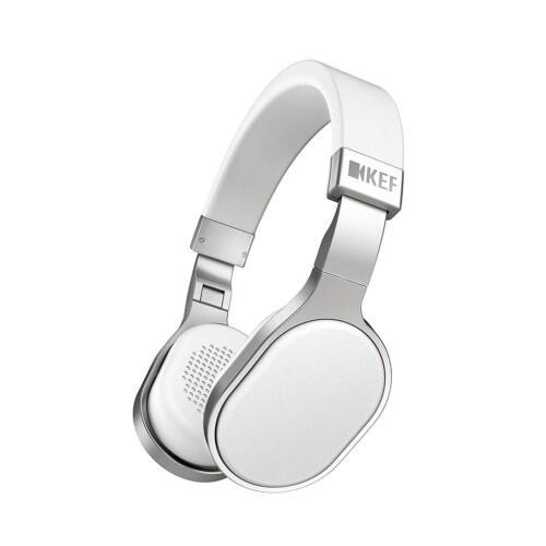 KEF M500 On-Ear Headphones White M500WH