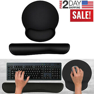 memory foam keyboard wrist rest pad mouse
