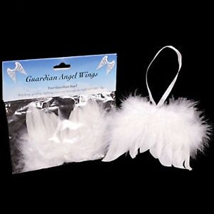 SMALL-WHITE-FEATHER-GUARDIAN-ANGEL-WINGS-BRAND-NEW-IDEAL-CHRISTMAS-DECORATION