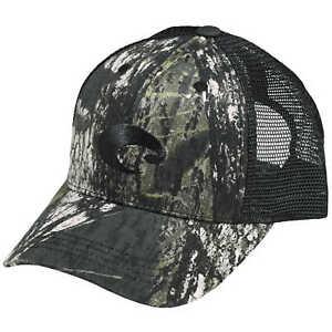Buy Costa Del Mar Mesh Hat Mossy Oak Camo and Black - HA 04cbl ... 8d5dc62949b2