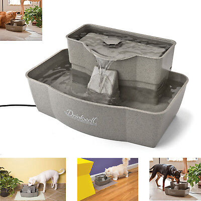 Drinkwell Pet Fountain Multi-Tier Electric Fresh Water Filter Clean Bowl Dog Cat