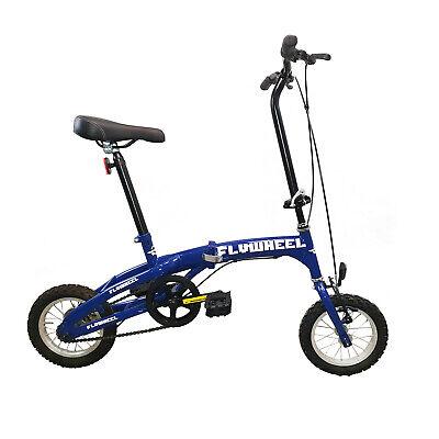 Mini Bike - Bici Pieghevole Biccletta Adulto FLYWHEEL 12 BLU CAR-BIKE BARCA AUTO