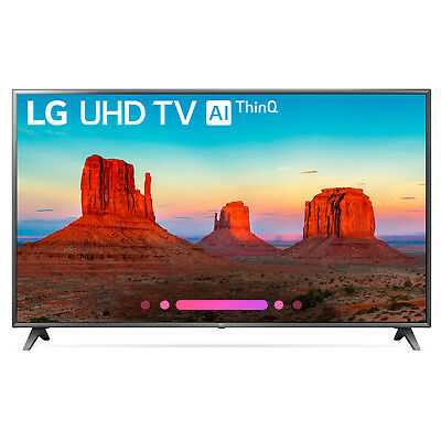 Lg 75Uk6570pub 75  Class 4K Hdr Smart Led Ai Uhd Tv W Thinq  2018 Model