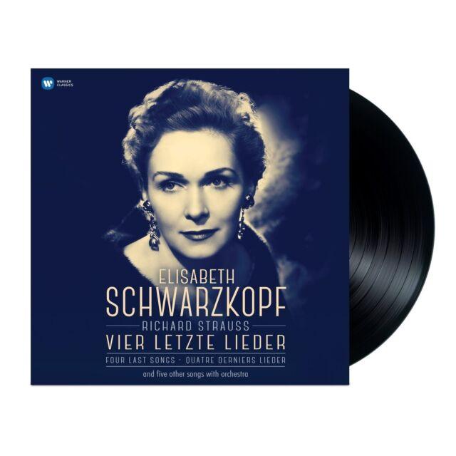 SCHWARZKOPF/RSOB/SZELL - VIER LETZTE LIEDER  VINYL LP NEU STRAUSS,RICHARD