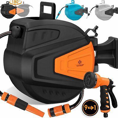 KESSER® Schlauchaufroller Wasserschlauchaufroller Schlauchtrommel Automatik