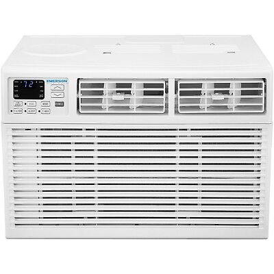 Emerson Quiet Kool 10,000 BTU Window Mount Room Air Conditioner Compact 115Volt