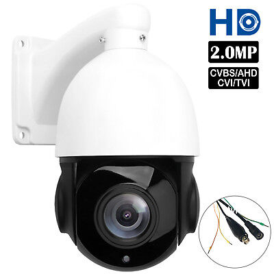 4.5'' 30X ZOOM 4in1 AHD/TVI/CVI/CVBS 1080P 2.0MP PTZ Speed Dome IR Camera Night