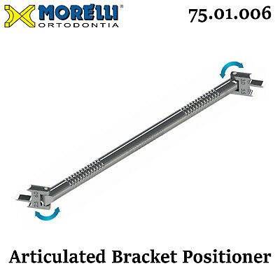 Morelli Dental Orthodontic Double Sided Articulated Gauge Bracket Positioner