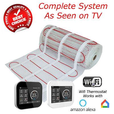 Electric Underfloor Heating mat kit 200w per m2 - UK SELLER (BDW)