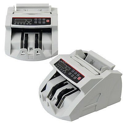Money Bill Currency Counter Counting Machine Counterfeit Detector Cash Usa