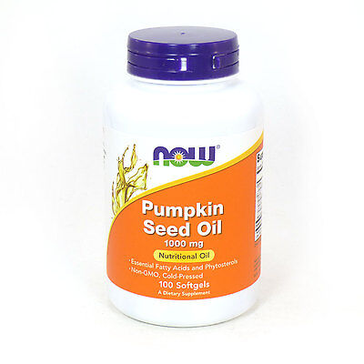 (Pumpkin Seed Oil 1000 mg 100 Softgels - NOW Foods)