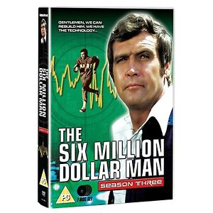 Six Million Dollar Man Season 3 - DVD NEW & SEALED - (7 Disks)          (Series)