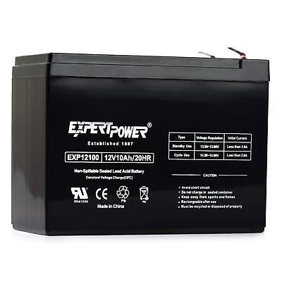 - ExpertPower 12 Volt 10 Amp 20 Hour Sealed Lead Acid Battery