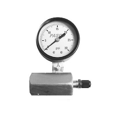Pasco 1420 60-Pound Gas Test Gauge Assembly - Gas Test Gauge Assembly