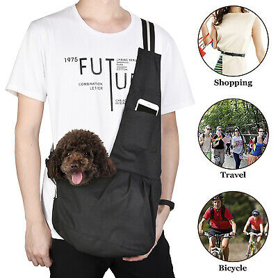 - Pet Sling Carrier Bag Tote Shoulder Dog Puppy Purse Pouch Travel 3 Size New