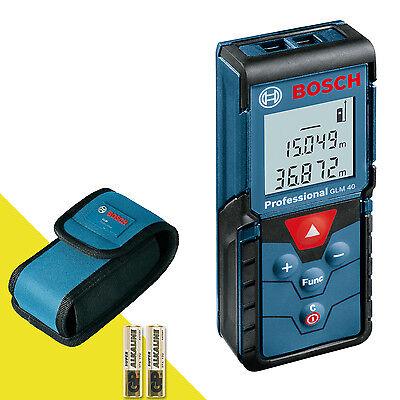 BOSCH 40m/131ft GLM 40 Laser Digital Distance Tape Measure/Pointer Both mm/Inch